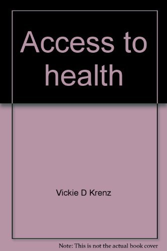 9780130131607: Access to health : study guide