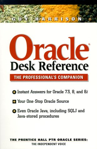 9780130132949: Oracle Desk Reference
