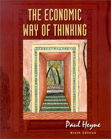 9780130132994: The Economic Way of Thinking (9th Edition)