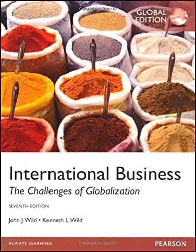 International Business: John J. Wild,