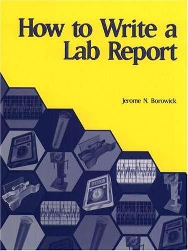 lab report book Having a lab report assignment but don't know what to do why not check out our tips and ideas for writing the lab report bestcustomwritingcom provides 24/7 help.