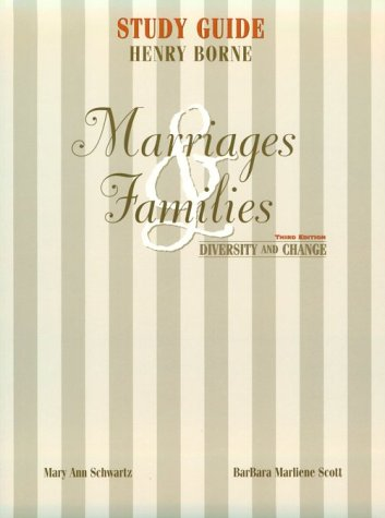 9780130135933: Marriages and Families: Diversity and Change