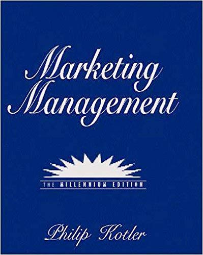 Marketing Management: Kotler, P