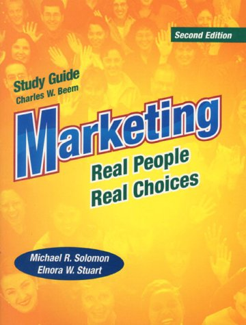 9780130136275: Marketing: Real People, Real Choices : Study Guide
