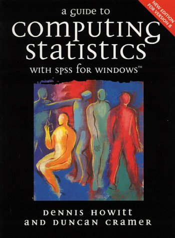 9780130136459: A Guide to Computing with SPSS for Windows