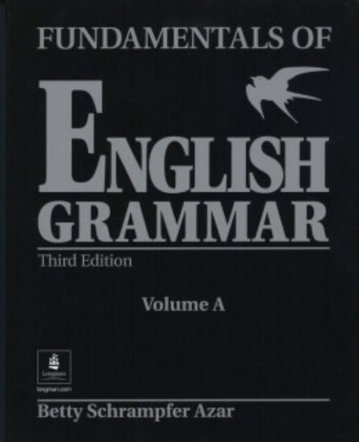 9780130136466: Fundamentals of English Grammar (Black), Student Book A (Without Answer Key), Third Edition