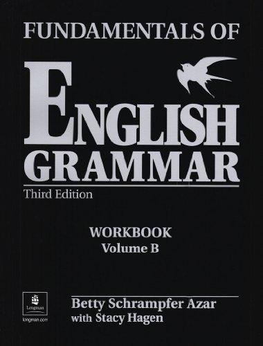 9780130136534: Fundamentals of English Grammar Workbook B (with Answer Key) (Azar English Grammar)