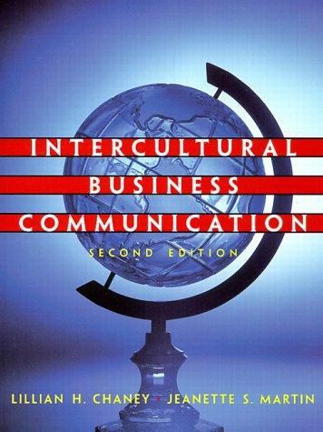 9780130137005: Intercultural Business Communication