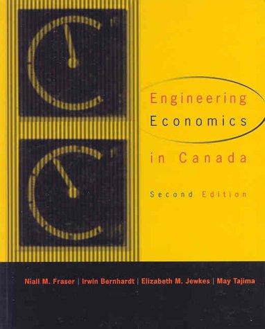 9780130138446: Engineering Economics in Canada