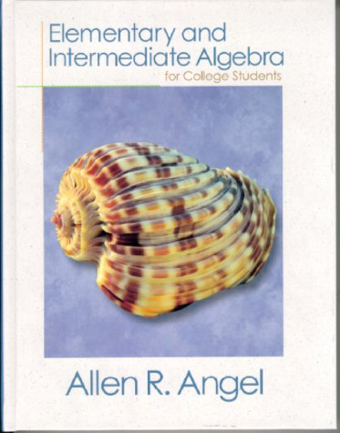 9780130139801: Elementary and Intermediate Algebra for College Students