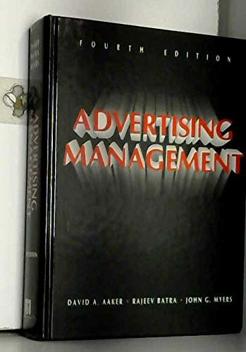 9780130141019: Advertising Management