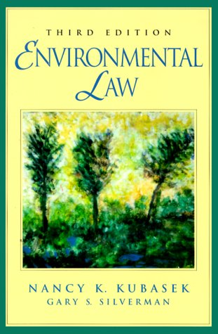 9780130141217: Environmental Law (3rd Edition)