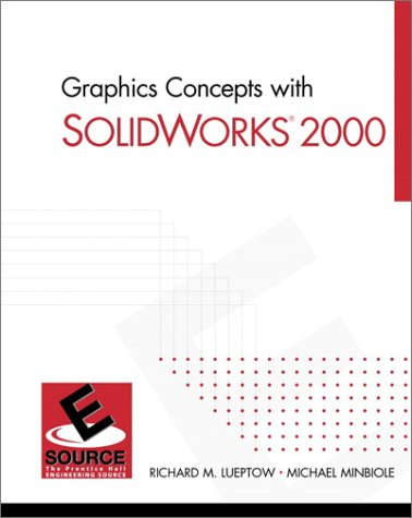 9780130141552: Graphics Concepts with SolidWorks 2000