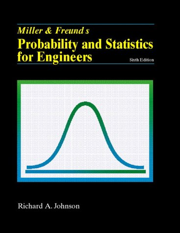 9780130141583: Miller and Freund's Probability and Statistics for Engineers