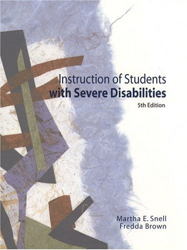 9780130142474: Instruction of Students with Severe Disabilities (5th Edition)