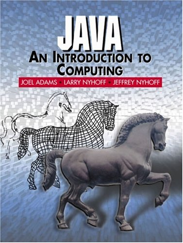 9780130142511: Java: An Introduction to Computing