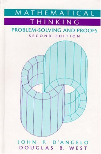 9780130144126: Mathematical Thinking: Problem-Solving and Proofs (2nd Edition)