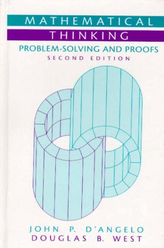 9780130144126: Mathematical Thinking: Problem-Solving and Proofs (Featured Titles for Transition to Advanced Mathematics)
