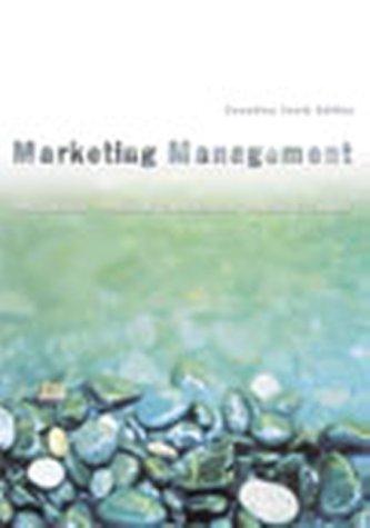 Marketing Management, Canadian Edition: Philip Kotler, Peggy