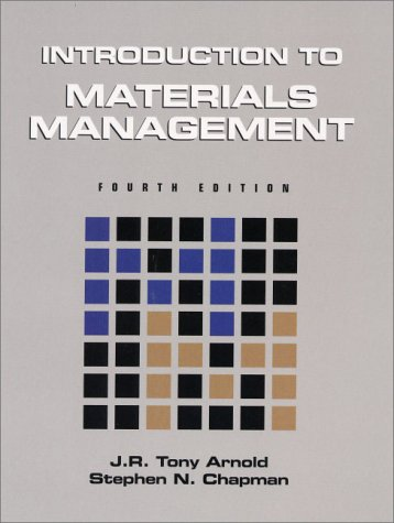 9780130144904: Introduction to Materials Management:(United States Edition)
