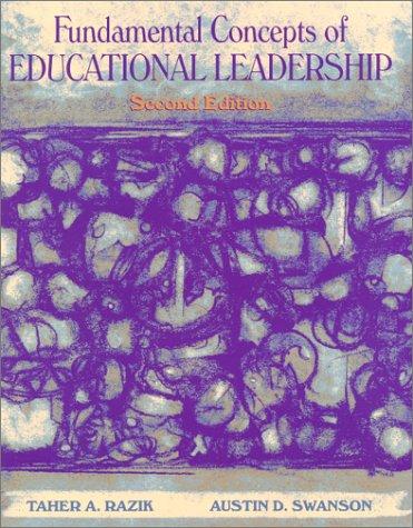 9780130144911: Fundamental Concepts of Educational Leadership