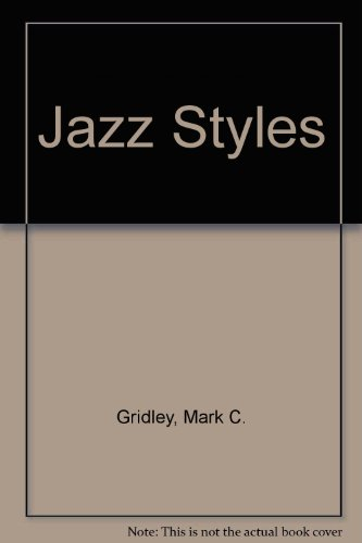 9780130145178: Jazz Styles