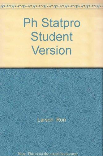9780130145222: PH StatPro: Student Version