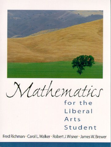 9780130145475: Mathematics for the Liberal Arts Student