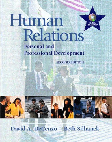 9780130145741: Human Relations: Personal and Professional Development
