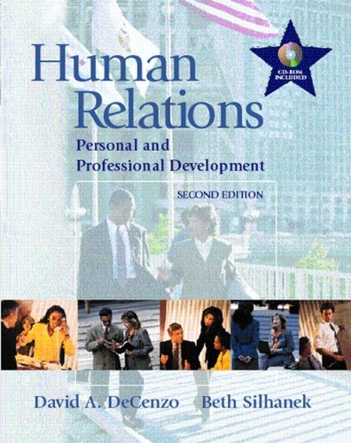 9780130145741: Human Relations: Personal and Professional Development, 2nd Edition