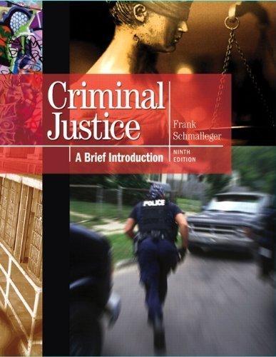 9780130146496: Criminal Justice: A Brief Introduction