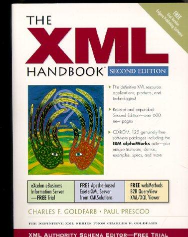 9780130147141: The XML Handbook (2nd Edition)