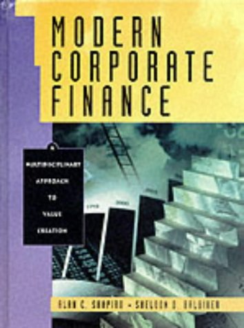 9780130151049: Modern Corporate Finance and PH FinCoach Center