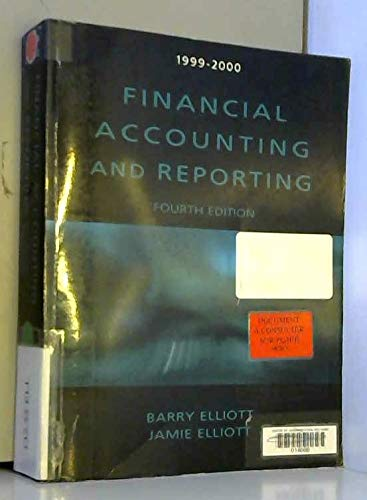 9780130152954: Financial Accounting and Reporting
