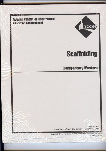 9780130155078: Scaffolding Transparency Masters (Wheels of Learning: Scaffolding)