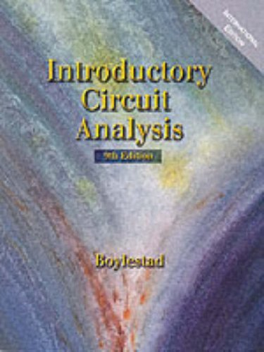 9780130155375: Introductory Circuit Analysis: International Edition (Prentice Hall International Editions)
