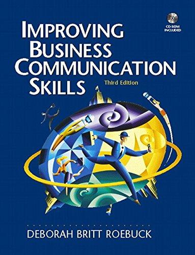 9780130155948: Improving Business Communication Skills (3rd Edition)