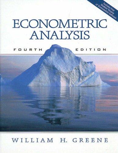 9780130156792: Econometric Analysis
