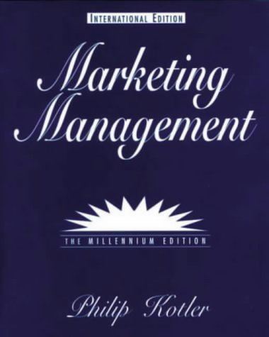 9780130156846: Marketing Management (International Students)