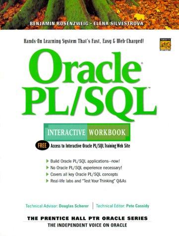 9780130157430: Oracle PL/SQL Interactive Workbook