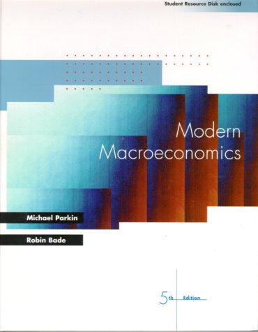 9780130157713: Modern Macroeconomics