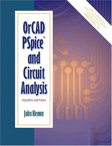 9780130157959: OrCAD PSpice and Circuit Analysis (4th Edition)