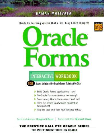 9780130158086: Oracle Forms Interactive Workbook (Interactive Workbook (Prentice Hall))