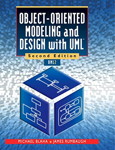 Object-Oriented Modeling and Design with UML (2nd Edition) (0130159204) by Blaha, Michael R.; Rumbaugh, James R
