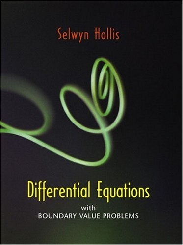 9780130159274: Differential Equations with Boundary Value Problems