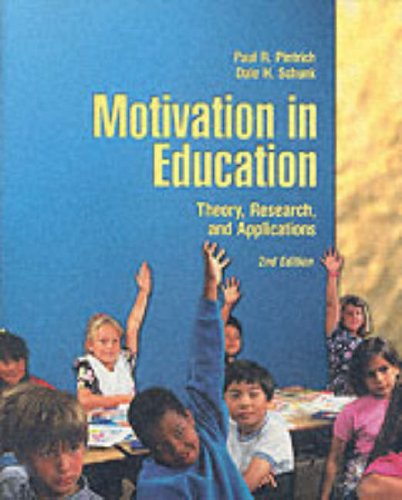 9780130160096: Motivation in Education: Theory, Research and Application