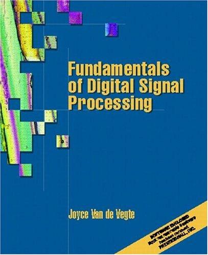 9780130160775: Fundamentals of Digital Signal Processing
