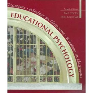 9780130160874: Educational Psychology: Windows on Classrooms