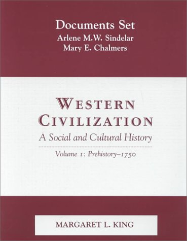 9780130160881: Western Civilization: A Social and Cultural History : Documents Set