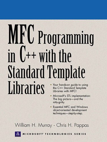 9780130161116: MFC Windows Programming with C++ and Standard Template Libraries (Prentice Hall Series on Microsoft Technologies)